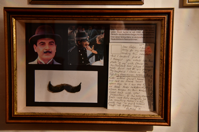 Das Kriminalhaus mit sein Café Sherlock das kriminellste Cafe in Hillesheim im Herzen der Eifel