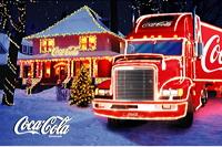 Coca-Cola Weihnachtstruks 2004 Darmstadt-Weiterstadt Segmüller