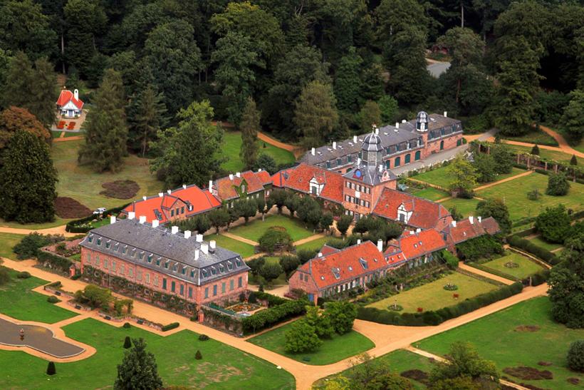 Prinzessinnenhaus 1902 Joseph Maria Olbrich Schloss Wolfsgarten Egelsbach Prinzessinn Elisabeth von Hessen
