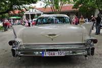 European Elvis Festival Bad Nauheim Elvis Presley King of Rock`n und Roll Cadillac-Parade August Elvis Presley der King starb am 16. August 1977 doch seine Legende lebt weiter