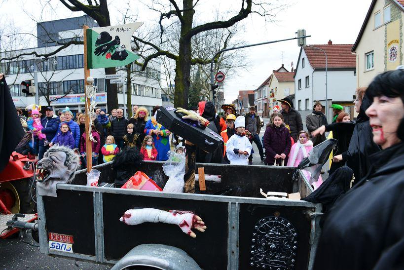 Mörfelden-Walldorf Helau, feiert die Fastnacht 2014 mit einem Faschingsumzug