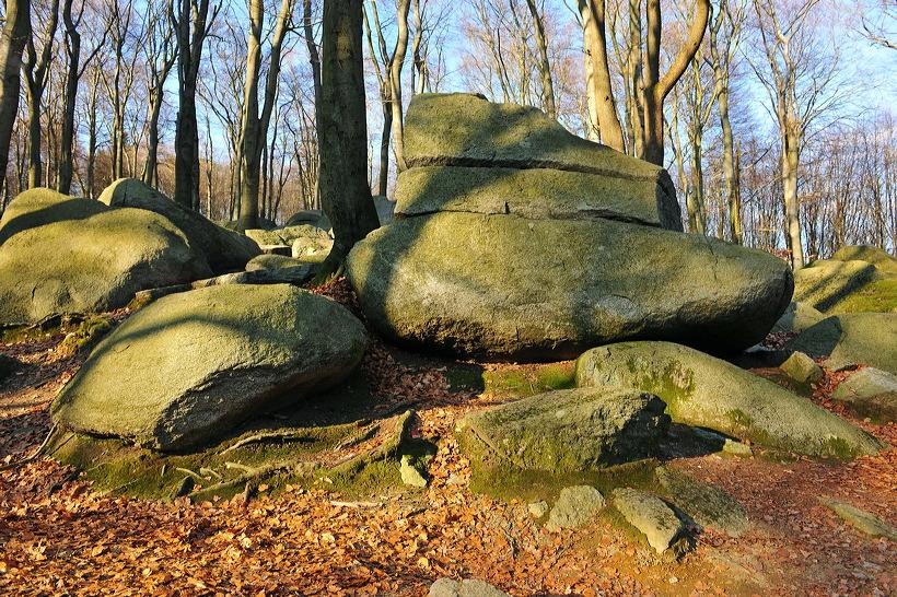 Felsenmeer Felsberg Römer Lautertal Nibelungensteig Odenwald