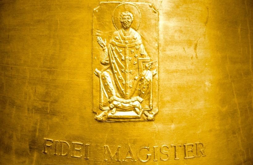 Glockenguss der Willibrordusglocke zu Echternach