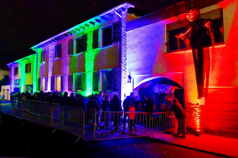 Halloween Hixacrels das Spukhaus in Mörfelden-Walldorf am 31.Oktober