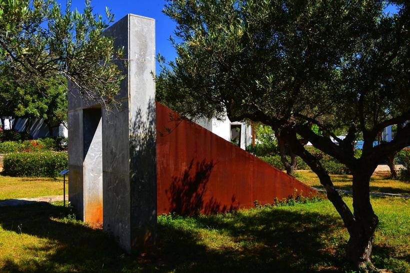 Griechenland Insel Kreta Agios Nikolaos Golf von Mirabelleo Minos Beach Art Hotel Honeymoon