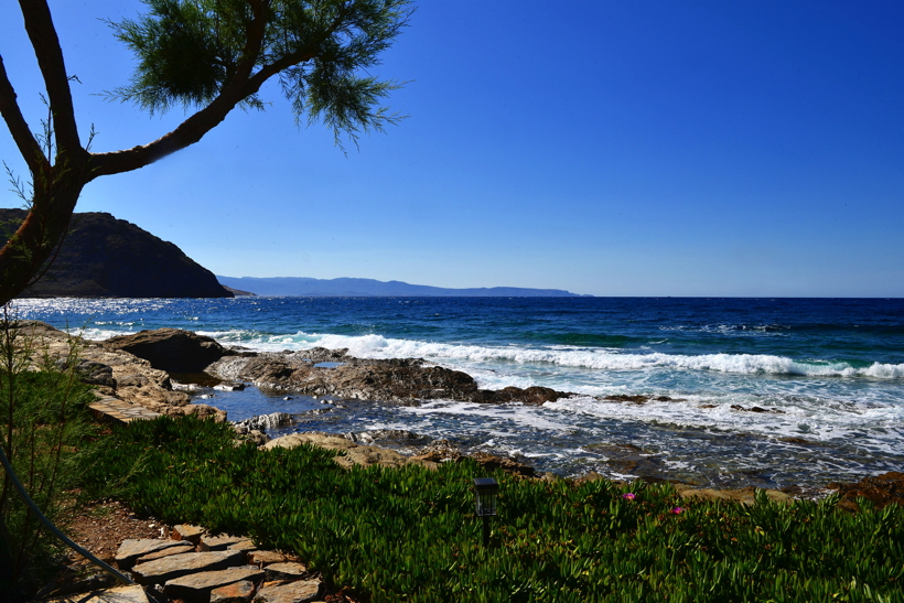 Griechenland Insel Kreta Mochlos Insel Agios Nikolaos Nordostküste Sitia Vai Palm Beach