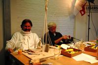 Nachruf zum Tod von Star-Designer Visionär Luigi Colani. Oktober 2009 in Hamburg der NKL-Lebenstraum Praktikanten der Generation 50+ Schirmherr Luigi Colani im Miniatur Wunderland die größte Modelleisenbahn Ausstellung in der Welt.Zum Tot von Star-Designer Visionär Luigi Colani NKL-Lebenstraum
