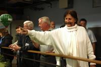Nachruf zum Tod von Star-Designer Visionär Luigi Colani. Oktober 2009 in Hamburg der NKL-Lebenstraum Praktikanten der Generation 50+ Schirmherr Luigi Colani im Miniatur Wunderland die größte Modelleisenbahn Ausstellung in der Welt.är Luigi Colani NKL-Lebenstraum