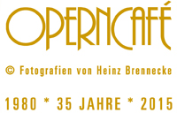 Operncafe Frankfurt 35 Jahre seit 1980 * 2015, Bistro Cafe im Wandel der Zeit