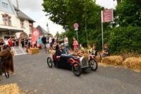 Juni 2018. Seifenkistenrennen in Mörfelden-Walldorf auf der Bahnhofstraße.