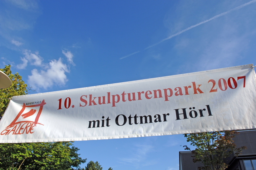10. Skulpturenpark 2007 der Stadt Mörfelden-Walldorf mit Ottmar Hörl,  Der verlorene Traum