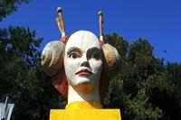 Skulpturen im Park im Rausch der Farben 11. Skulpturenpark 2008 der Stadt Mörfelden-Walldorf