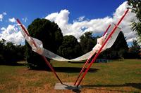 Skulpturen im Park im Rausch der Farben 11. Skulpturenpark 2008 der Stadt Mörfe
