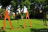 13. Skulpturenpark 2010, Park-Sichten der Stadt Mörfelden-Walldorf