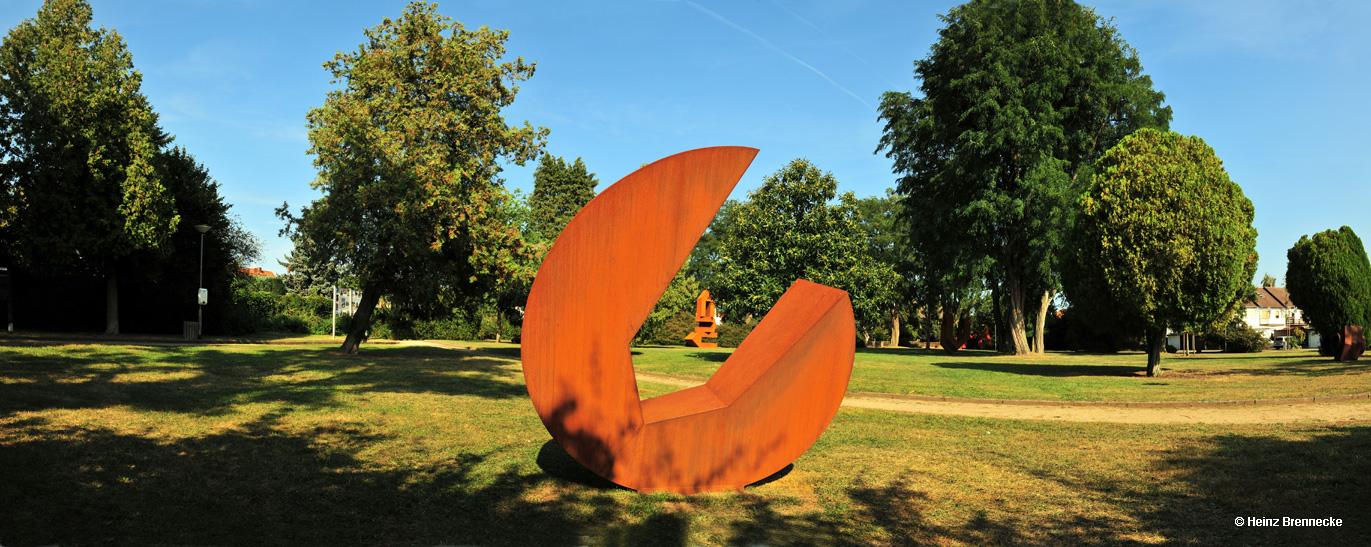 15. Skulpturenpark 2012, Jubiläum des Skulpturenparks der Stadt Mörfelden-Walldorf