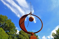 17. Skulpturenpark 2014, der Stadt Mörfelden-Walldorf - Kräftespiele