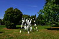 18. Skulpturenpark 2015, der Stadt Mörfelden-Walldorf - Figur und Umwelt