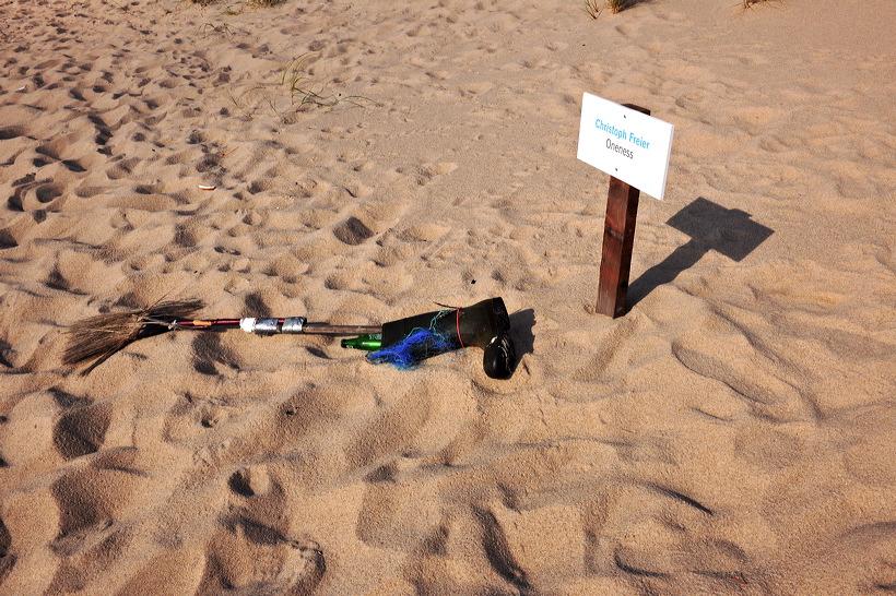 Sylt Kunst am Strand 2012